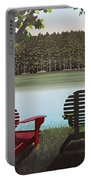 Under Muskoka Trees Portable Battery Charger
