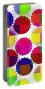 Under The Blanket Of Colors Portable Battery Charger