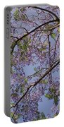 Under The Jacaranda Tree Portable Battery Charger
