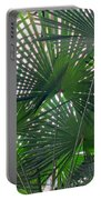 Under The Palm Tree Portable Battery Charger