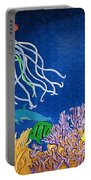 Under The Sea Mural 1 Portable Battery Charger