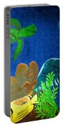Under The Sea Mural 2 Portable Battery Charger