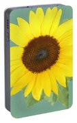 Under The Sunflower's Spell Portable Battery Charger