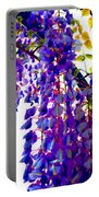Under The Wisteria Portable Battery Charger