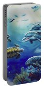 Under Water Antics Portable Battery Charger