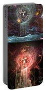 Undersea Angels Red Portable Battery Charger
