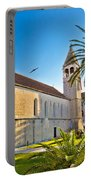 Unesco Town Of Trogir Church View Portable Battery Charger