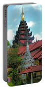 Unfinished Temple In Tachilek-burma Portable Battery Charger