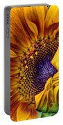 Unfurling Beauty - Cropped Version Portable Battery Charger