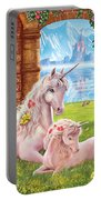Unicorn Mother And Foal Portable Battery Charger