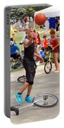 Unicyclist - Basketball - Street Rules  Portable Battery Charger