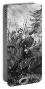Union Charge At The Battle Of Gettysburg Portable Battery Charger