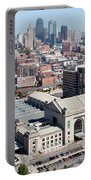 Union Station And Downtown Kansas City Portable Battery Charger