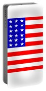 United States 30 Stars Flag Portable Battery Charger