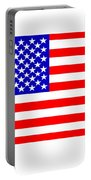 United States 50 Stars Flag Portable Battery Charger