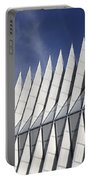 United States Airforce Academy Chapel Colorado Portable Battery Charger