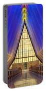 United States Airforce Academy Chapel Interior Portable Battery Charger