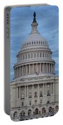 United States Capitol Building Portable Battery Charger by Kim Hojnacki