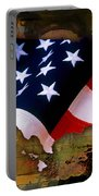 United States Map  Portable Battery Charger by Marvin Blaine