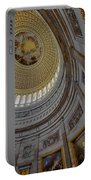 Unites States Capitol Rotunda Portable Battery Charger by Susan Candelario