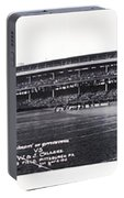 University Of Pittsburgh Vs W And J College Forbes Field Pittsburgh Pa 1915 Portable Battery Charger