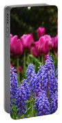 Unknown Flowers Portable Battery Charger