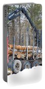 Unloading Firewood 2 Portable Battery Charger