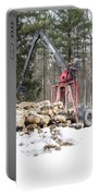 Unloading Firewood 5 Portable Battery Charger