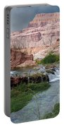 Unspoiled Waterfall Portable Battery Charger