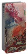Untitled Watercolor 1998 Portable Battery Charger