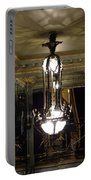 Unusual Lighting Fixture In Laduree On The Champs De Elysees Portable Battery Charger