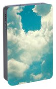 The Kiss Of The Clouds Portable Battery Charger