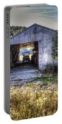 Up At The Barn Portable Battery Charger