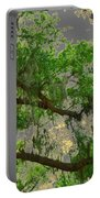 Up Through The Haunted Tree Portable Battery Charger