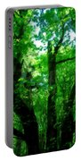 Up Through The Trees Portable Battery Charger