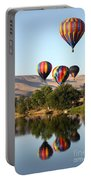 Up Up And Away Portable Battery Charger by Carol Groenen