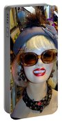 Upper East Side Lady Portable Battery Charger