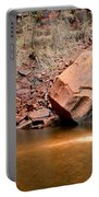 Upper Emerald Pools At Zion National Park Portable Battery Charger