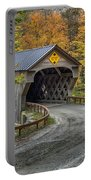 Upper Falls Covered Bridge Portable Battery Charger