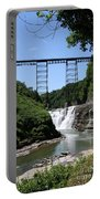Upper Falls Of The Genesee River  Portable Battery Charger