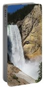 Upper Falls Yellowstone National Park Portable Battery Charger