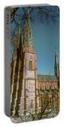 Uppsala Cathedral Spires  Portable Battery Charger