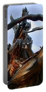 Uprooted Beauty Portable Battery Charger by Shane Bechler