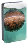 Upside-down Jellyfish Cassiopea Portable Battery Charger