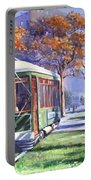 Streetcars Uptown New Orleans Portable Battery Charger