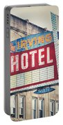 Chicago's Irving Hotel Portable Battery Charger