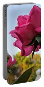Upward Roses Portable Battery Charger