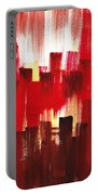 Urban Abstract Evening Lights Portable Battery Charger