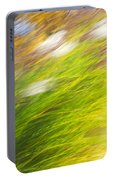Urban Nature Fall Grass Abstract Portable Battery Charger