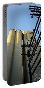 Urban Towers And Poles Portable Battery Charger